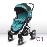 BABY ACTIVE - Sport Q 2018, Q03 tyrkys