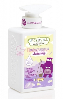 Jack N´ Jill NATURAL BATHTIME Telové mlieko 300 ml