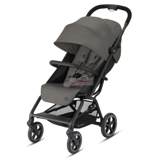 CYBEX - Eezy S+ 2 black,  col. soho grey