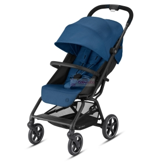 CYBEX - Eezy S+ 2 black,  col. navy blue