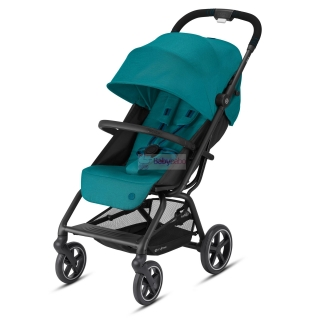 CYBEX - Eezy S+ 2 black,  col. river blue