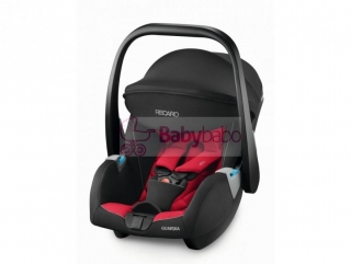 RECARO - GUARDIA 2019, racing red + SmartClick Base