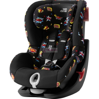 Britax-Römer - KING II Black 2020, comic fun