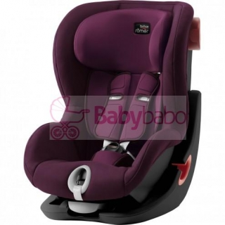 Britax-Römer - KING II Black 2019, burgundy red