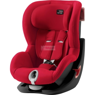 Britax-Römer - KING II Black 2019, fire red