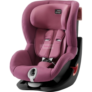 Britax-Römer - KING II Black 2019, wine rose