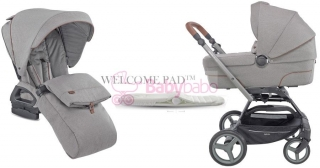 INGLESINA - QUAD systém Duo 2v1 2019, derby grey