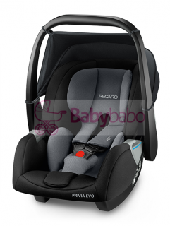 RECARO - PRIVIA EVO 2019, carbon black + SmartClick Base