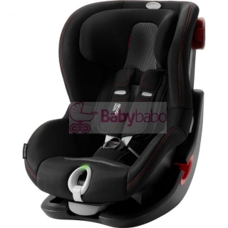 Britax-Römer - KING II LS Black, cool flow black