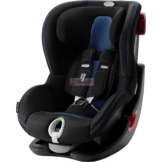 Britax-Römer - KING II LS Black, cool flow blue
